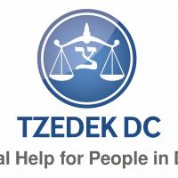 Tzedek DC Logo